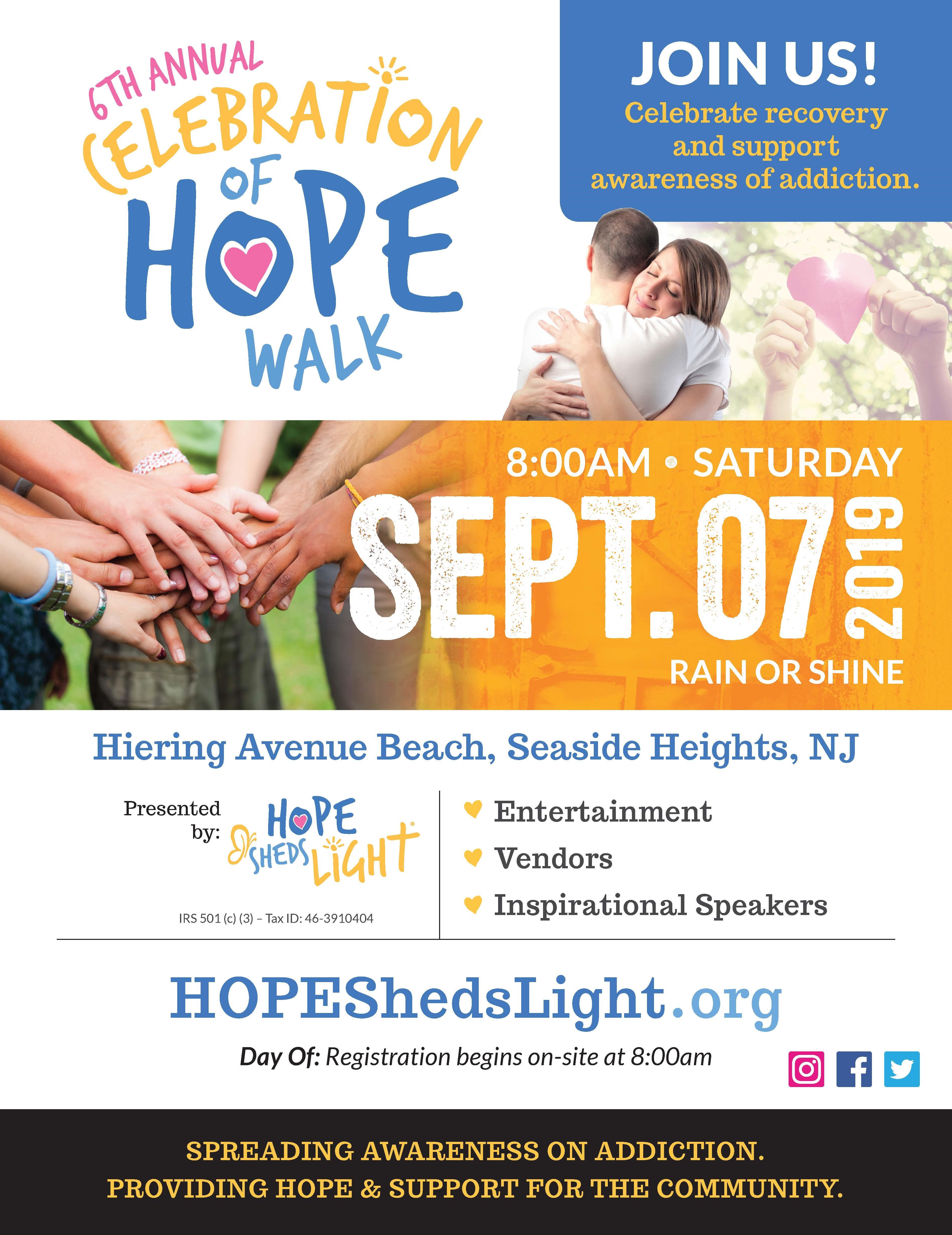Celebration of Hope Walk
